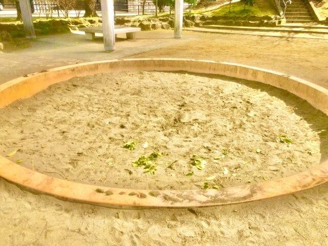 砂場が理想のトイレ